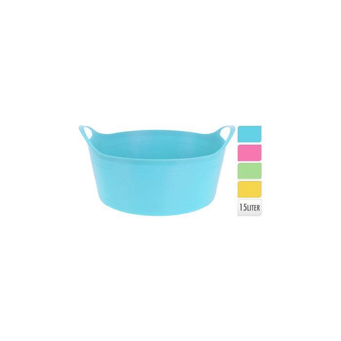 Flexible Bucket 15 Litre (Blue)