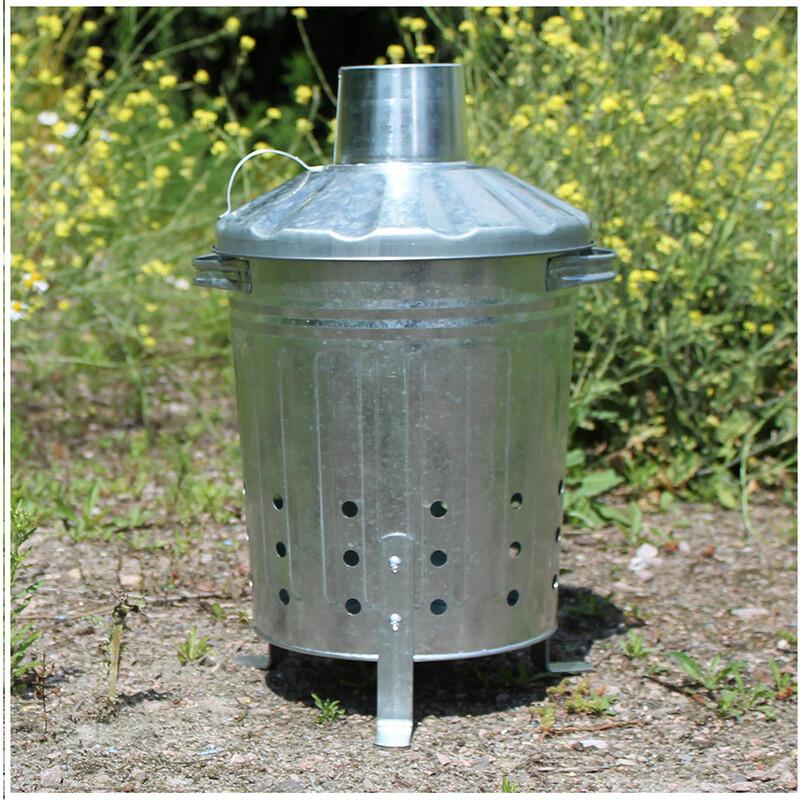 Mini Galvanised Incinerator