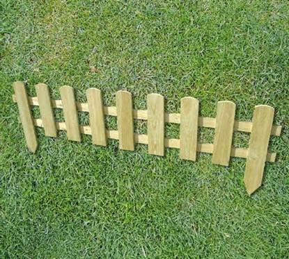 Caldecote Mini Picket Fence - 5 For £18