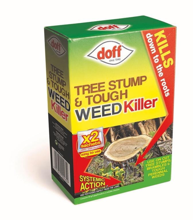 Tree Stump & Tough Weedkiller