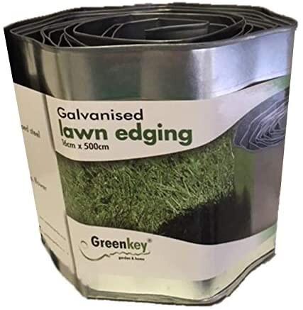 Galvanised Lawn Edging