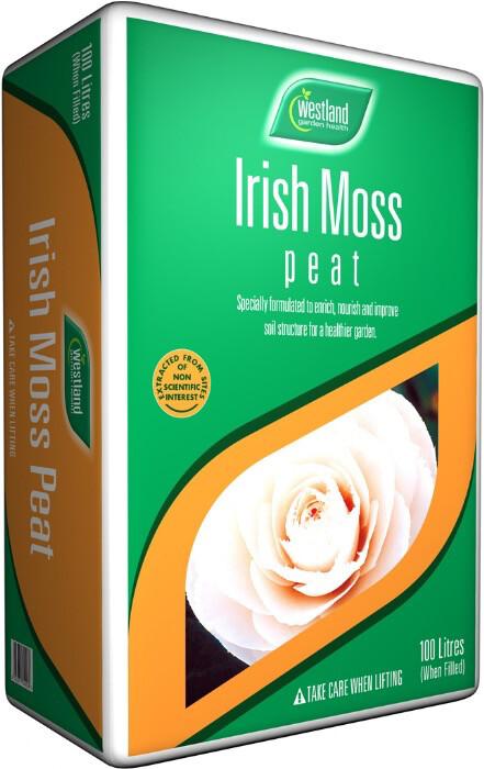 Irish Moss Peat 100 Litre Bale