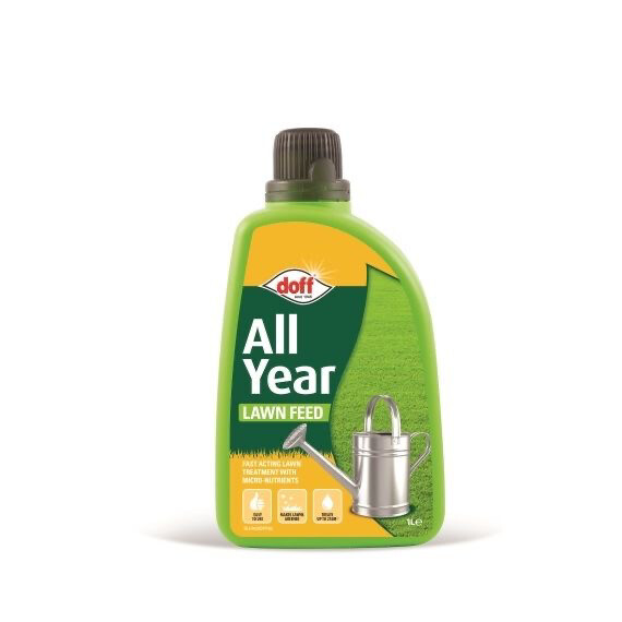 Doff All Year Round Lawn Feed 1 Litre