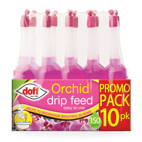 Doff Orchid Drip Feeders (10 Pack)