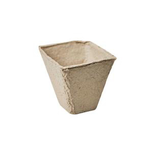Square Peat Pots (Pack Of 18)