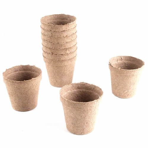 Round Peat Pots (Pack Of 20)