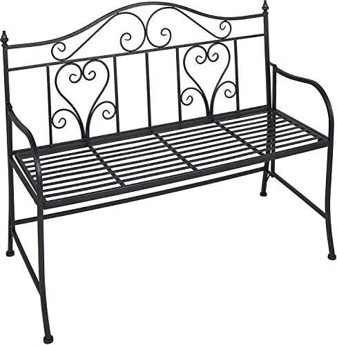 Bistro Steel Garden Bench