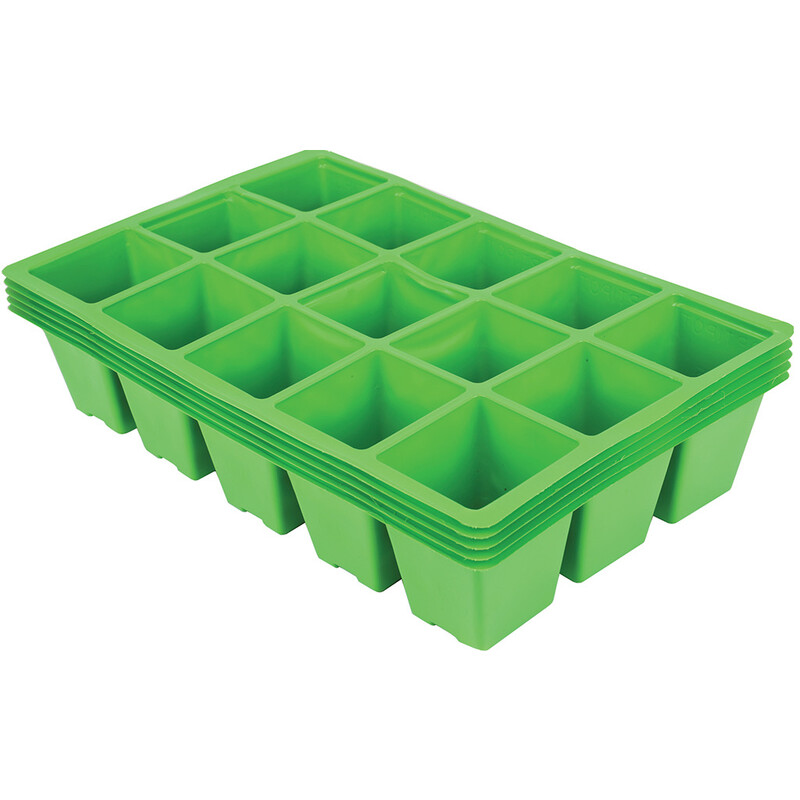 Gardman 15 Cell Seed Tray Inserts (Pack of Five)