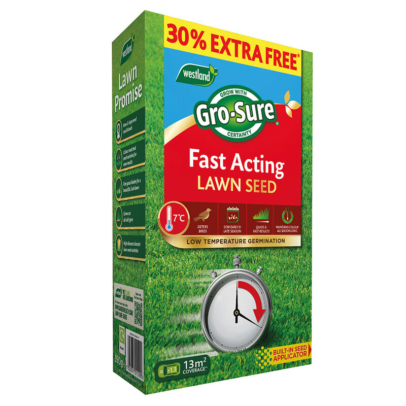 Fast Acting Lawn Seed