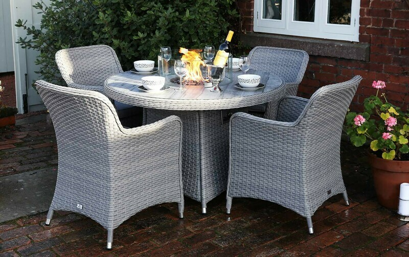 CATALAN FOUR SEAT FIREPIT SET BUY ONLINE NOW TO SECURE YOUR PURCHASE. THIS PRODUCT WAS IN HIGH DEMAND LAST YEAR. AVAILABLE FOR DELIVERY OF COLLECTION FROM APRIL 2021