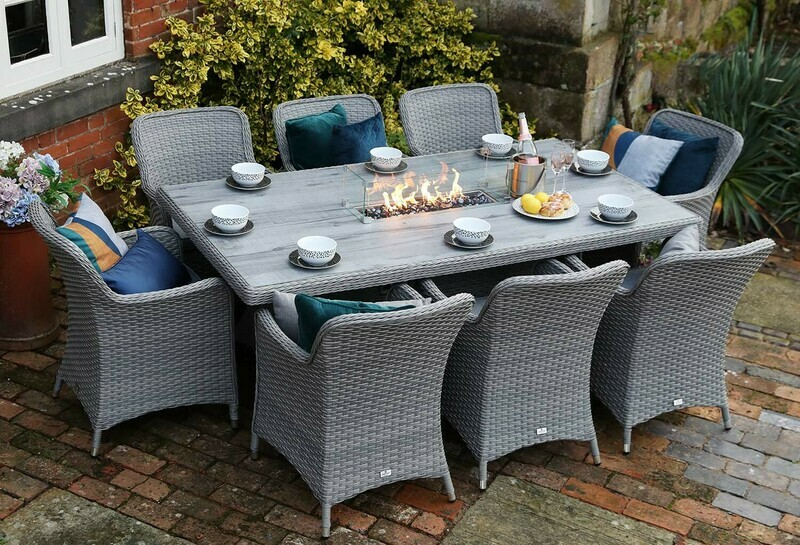 CATALAN EIGHT SEAT FIREPIT SET BUY ONLINE NOW TO SECURE YOUR PURCHASE. THIS PRODUCT WAS IN HIGH DEMAND LAST YEAR. AVAILABLE FOR DELIVERY OF COLLECTION FROM APRIL 2021