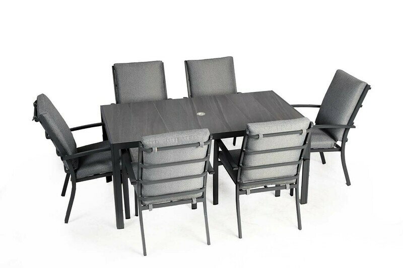 SYDNEY SIX SEAT DINING SET BUY ONLINE NOW TO SECURE YOUR PURCHASE. THIS PRODUCT WAS IN HIGH DEMAND LAST YEAR. AVAILABLE FOR DELIVERY OF COLLECTION FROM APRIL 2021