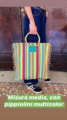 Shopper Bamboo Multicolor