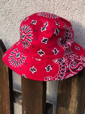 Cappellino bandana double rosso