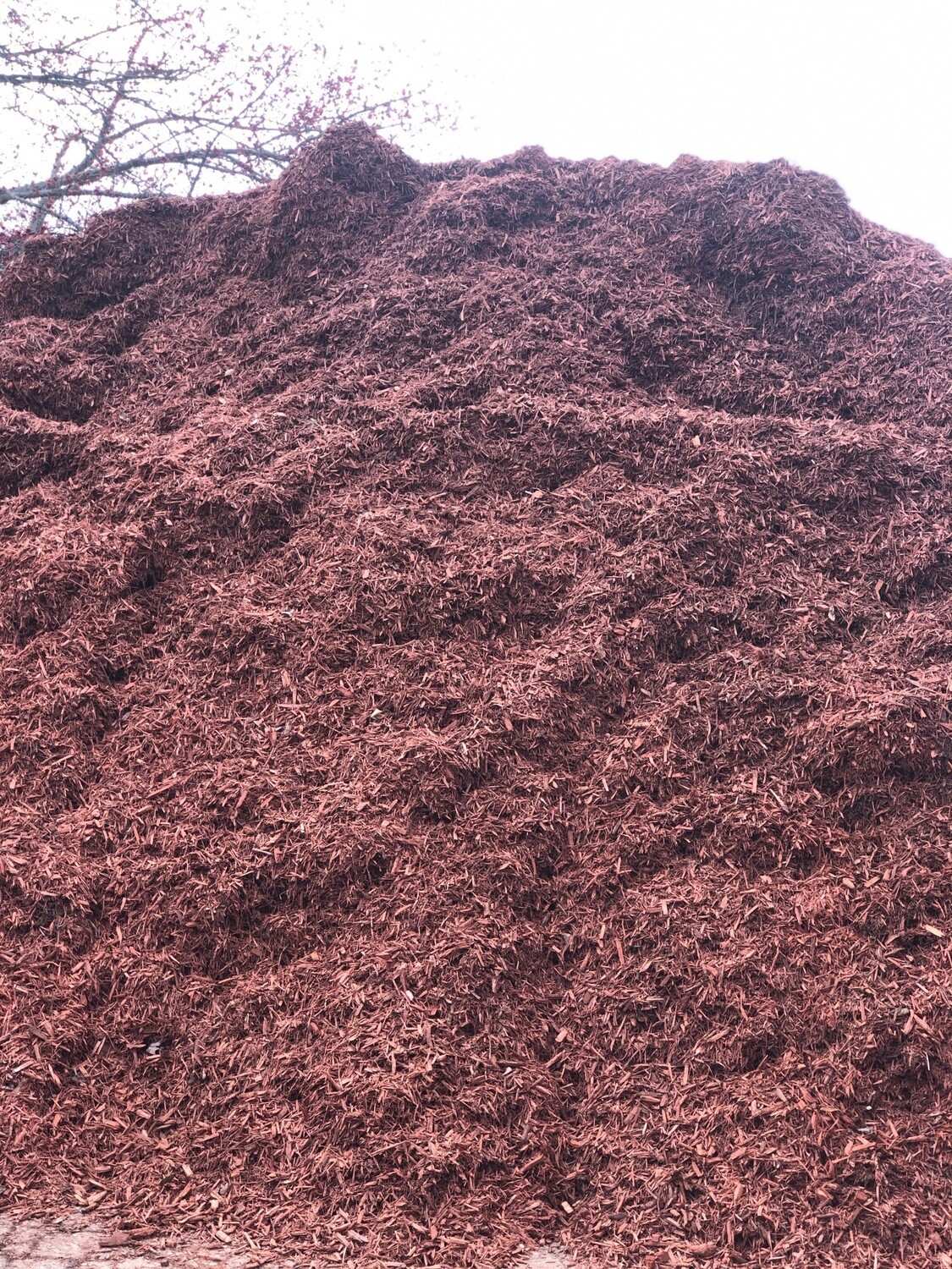 Red Burnt Mulch (per yard)