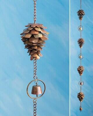 Ancient Graf Pine Cone Rain Chain BFG2020