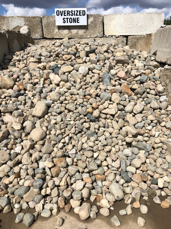 Over-sized Rocks (per yard)