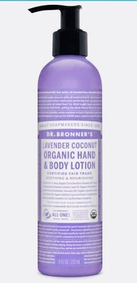 Organic Hand & Body Lotion