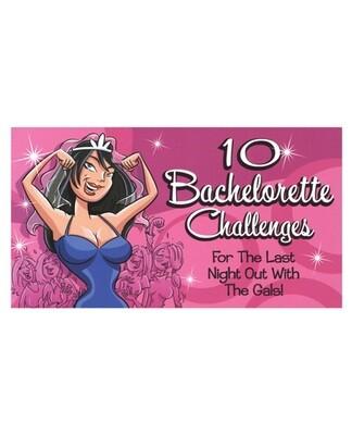 10 BACHELORETTE CHALLENGES VOUCHER