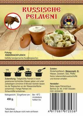 Pelmeni mit Rindhackfleisch