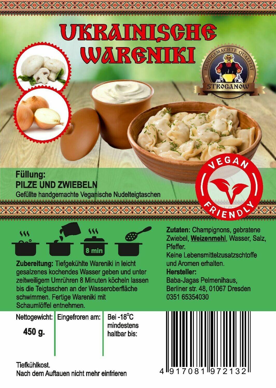 Wareniki nach Vegan Art