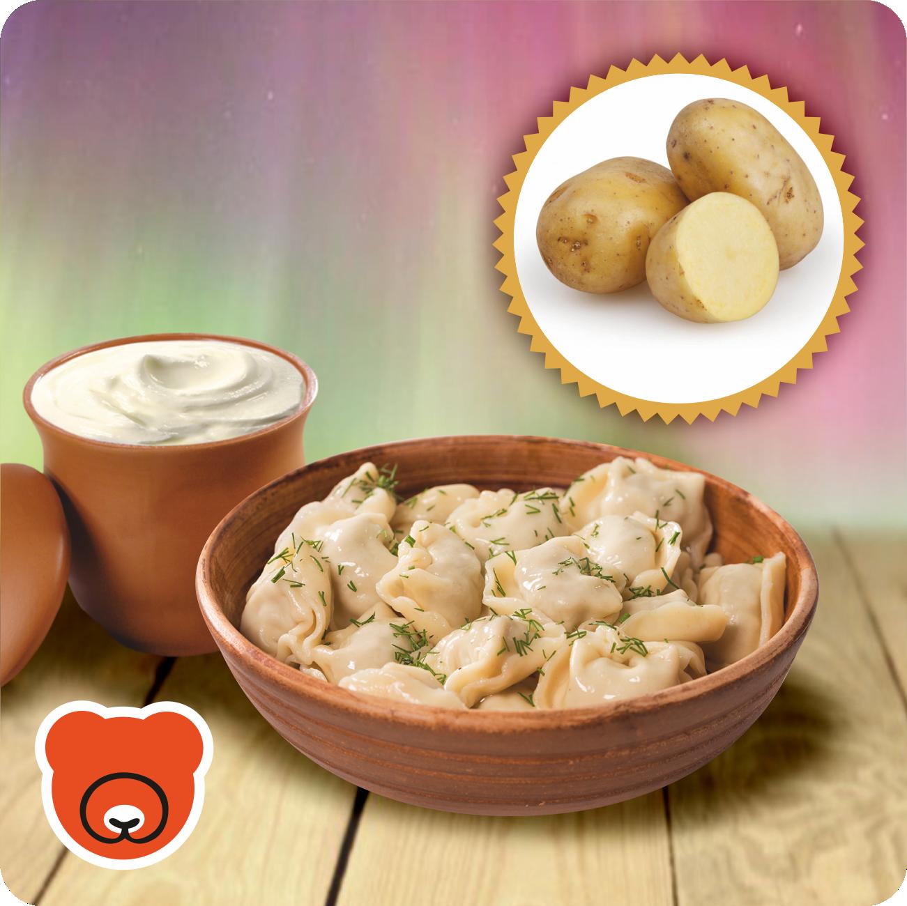 Wareniki mit Kartoffel