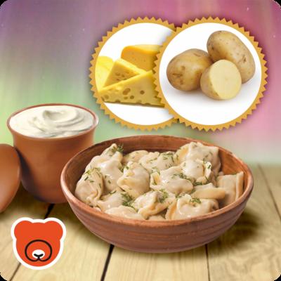 Wareniki mit Kartoffel und Käse