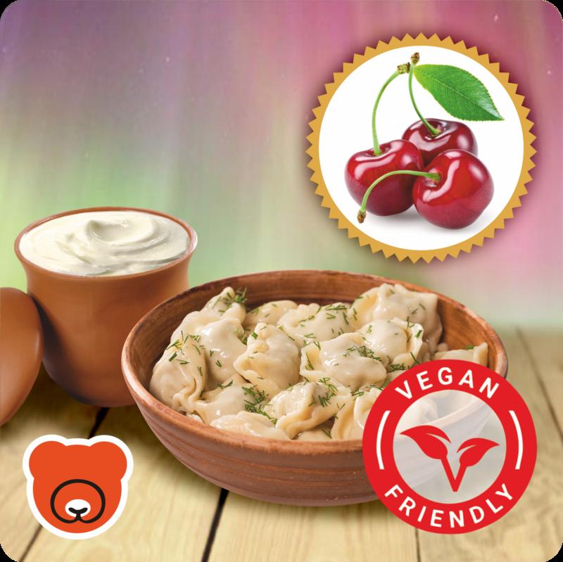 Wareniki mit Sauerkirsche nach Vegan art