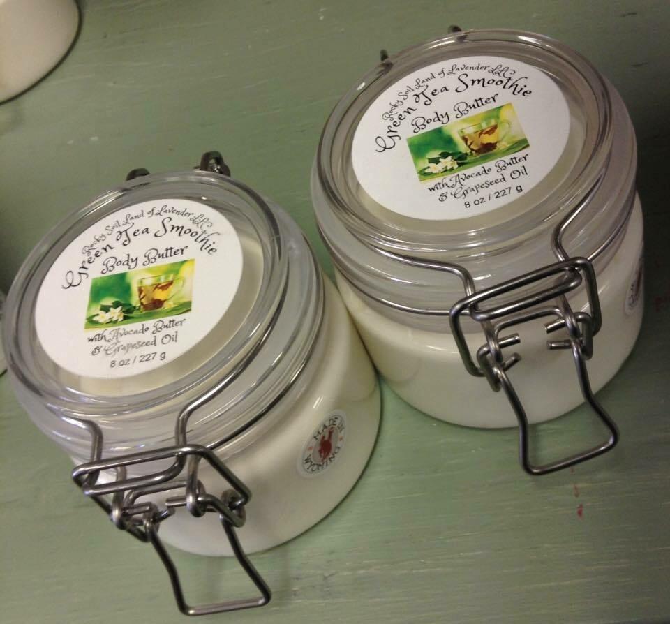 Land of Lavender/Green Tea Smoothie Body Butter 8 oz.