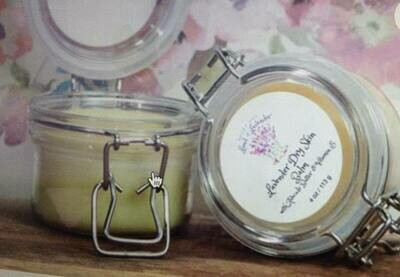 Land of Lavender/Lavender Dry Skin Balm 4 oz.