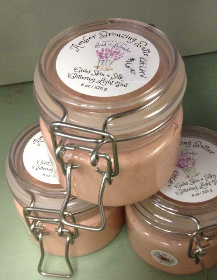 Land of Lavender/8 oz. Amber Bronzing Butter