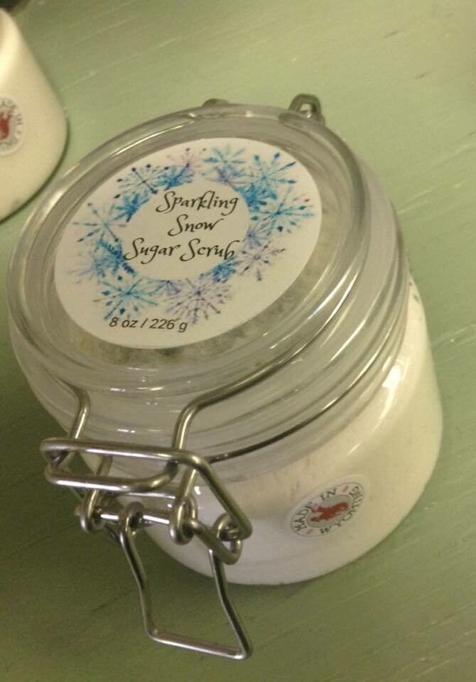 Land of Lavender/Sparkling Snow Sugar Scrub 8 oz.