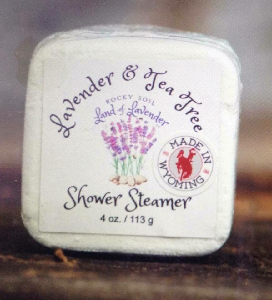Land of Lavender/Lavender & Tea Tree Shower Steamer