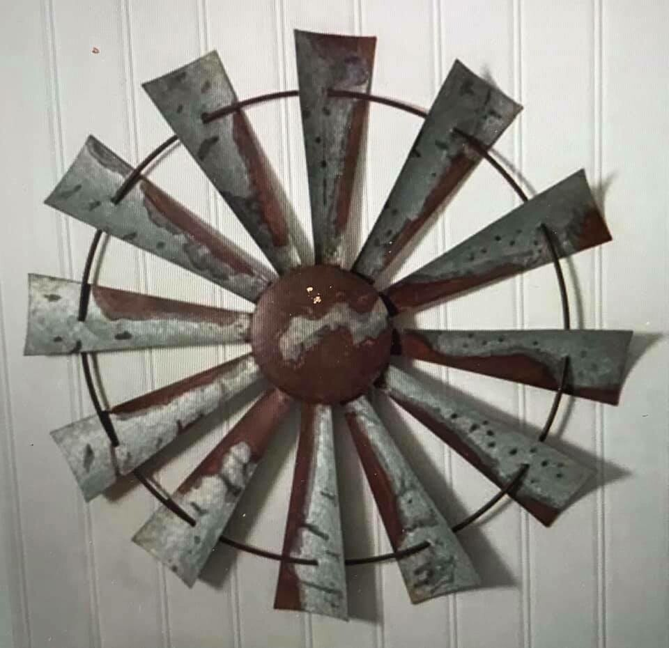 "Home Decor/wall art/Windmill Decor/32"" diameter"