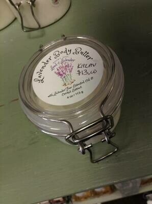Land of lavender/Lavender Body Butter 4 oz.