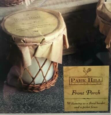 Candle/Park Hill 14 0z. Willow Candle-back porch scent