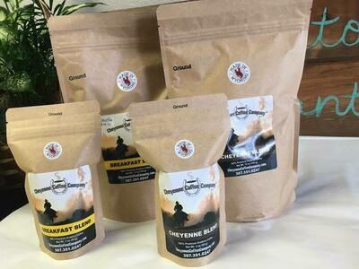 Cheyenne Coffee Co. Breakfast Blend (small ground)