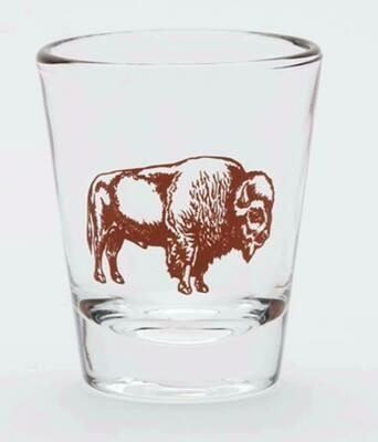 Drinkware/Buffalo shot glass