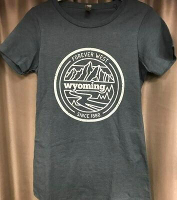 Wyoming/Forever West Tee sz small/med/large/XL and XXL