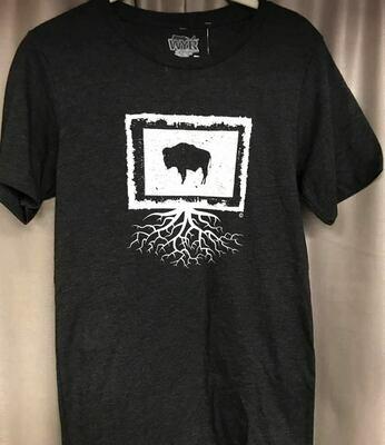 Tee Shirt/Wyo/Buff/Roots unisex tee