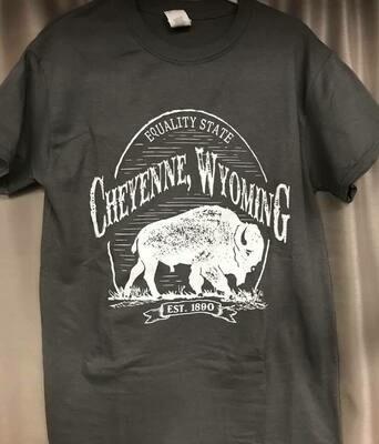 Tee Shirt/Cheyenne/Equality State/1890 tee sz. sm-xxxl