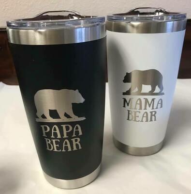 Drinkware/Mama Bear Tumbler