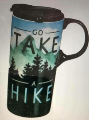 Drinkware/Take a Hike Travel cup