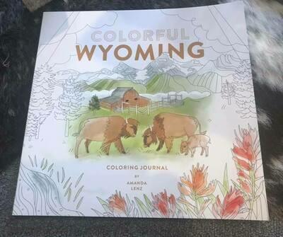 Wyoming color book/Wyoming souvenir