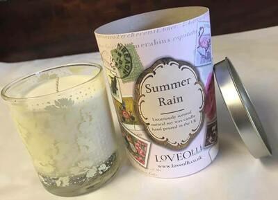 Candle/loveolli/summer rain