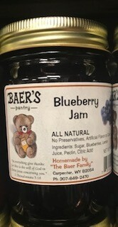 Baer Blueberry Jam