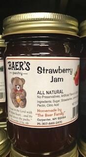 Baer Strawberry Jam