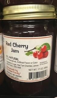 Baer Red Cherry Jam