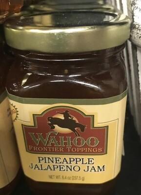 Wahoo Pineapple Jalapeno Jam