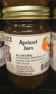 Baer Apricot Jam